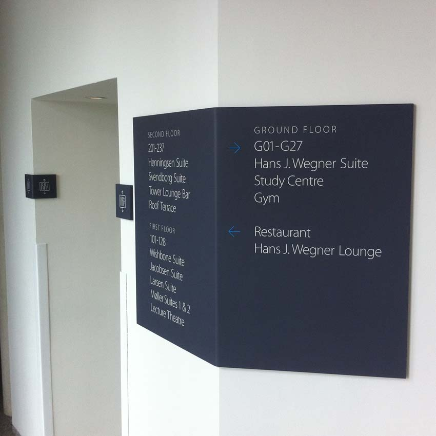 Wayfinding Signs | Signmakers Cambridge