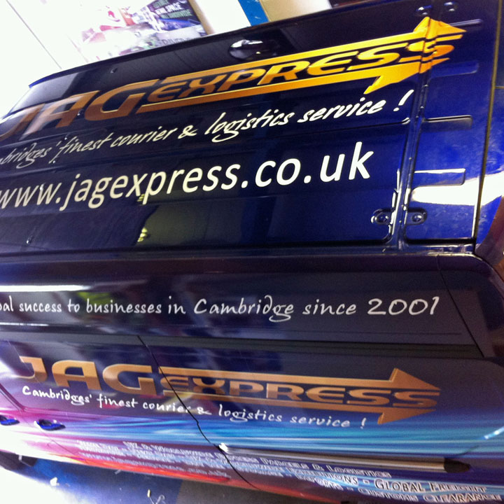 Vehicle Wrapping Cambridge | Van Wrap Graphics