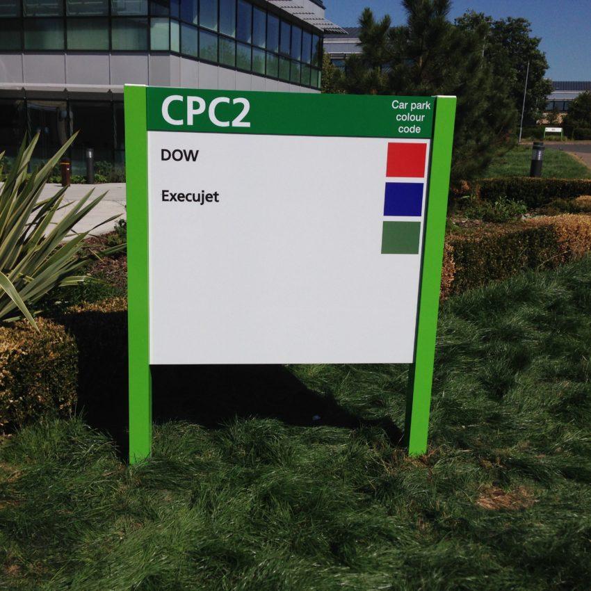 Directional Car park Sign